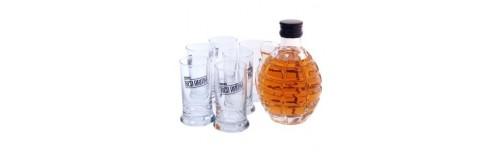 VERRES SHOOTER Red Army avec BRANDY style grenade