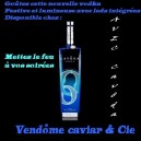 Vodka Cavôda Ultra Premium 75 cl 40° AVEC LEDS INTEGREES